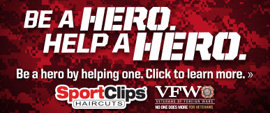 Sport Clips Tallahassee ​ Help a Hero Campaign